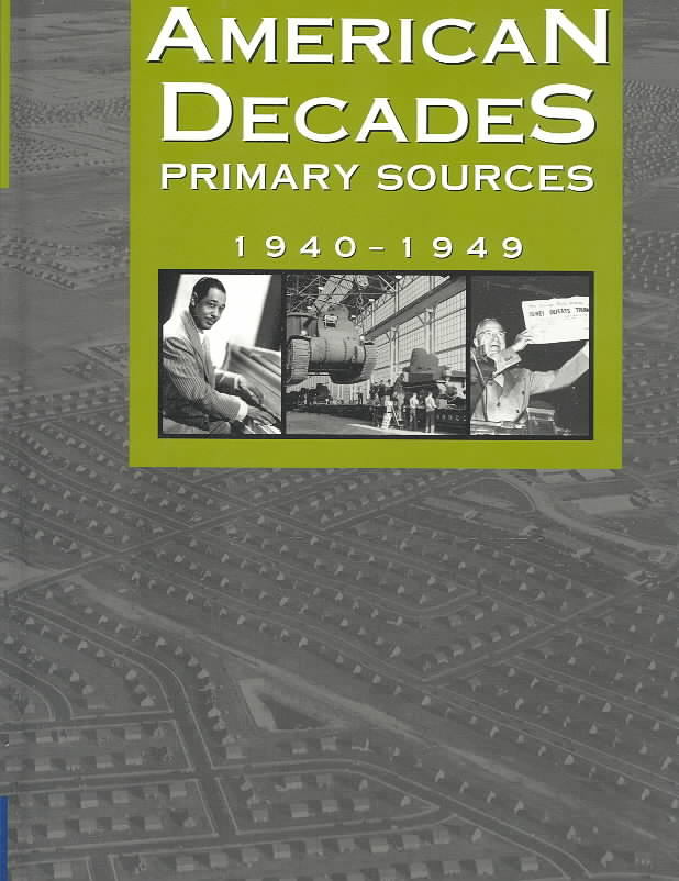 American Decades Primary Sources By Rose, Cynthia (EDT)
